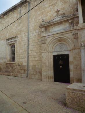 Eglise où est vénéré le tombeau de Saint Georges à Lod
