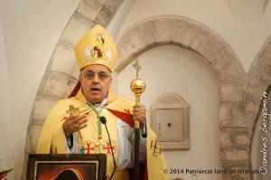 Mgr Moussa El Hage, archevêque maronite de Terre sainte.