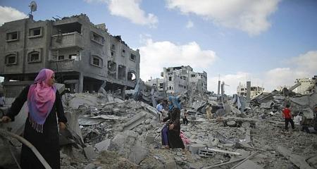 Gaza destruction C Reuters--672x359