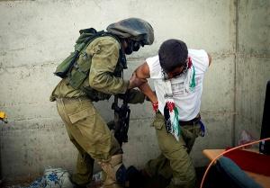 Un soldat de l'unité 8200 à l'entrainement sur le terrain/Photo © Moshe shai/Flash90