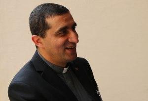 Le père Paul Karam, président de Caritas Liban. (photo G. Gianfrate)
