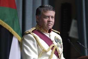 Jordan King Abdullah II readies to speak