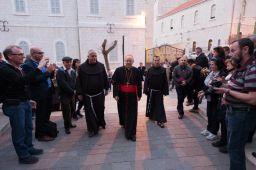 Cardinal Baldisseri à Nazareth