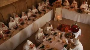 Salle à manger du monastère de l'Assomption
