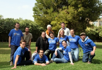 Volontaires DCC en Terre Sainte