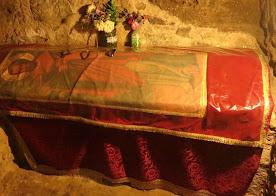 Tombeau de Saint Barnabé au sanctuaire de Salamine