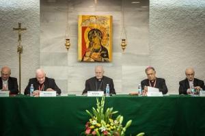 Conseil européen des Conférences episcopales réunion Terre Sainte et Mgr Marc Ouellet