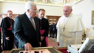 Pape François et Abbas