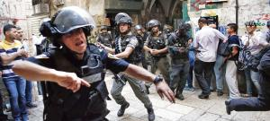 Heurts esplanade des mosquées - police armée israélienne