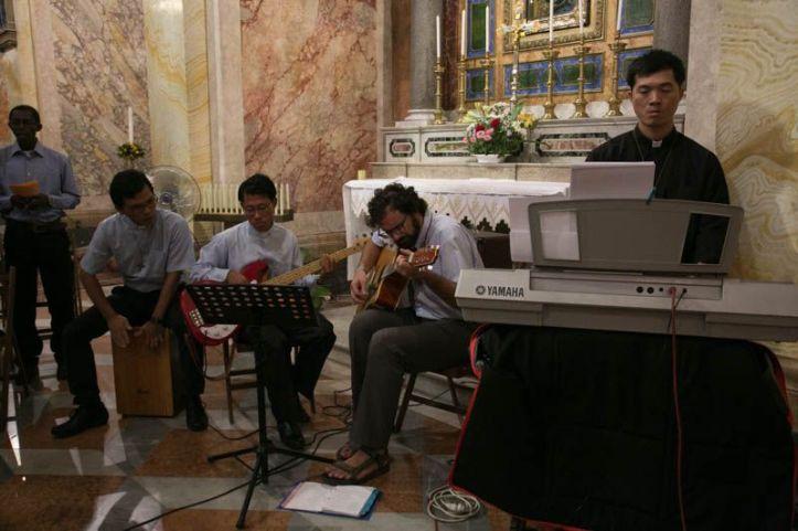 Groupe musique salésiens