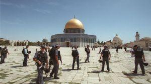 policiers esplanade des mosquées