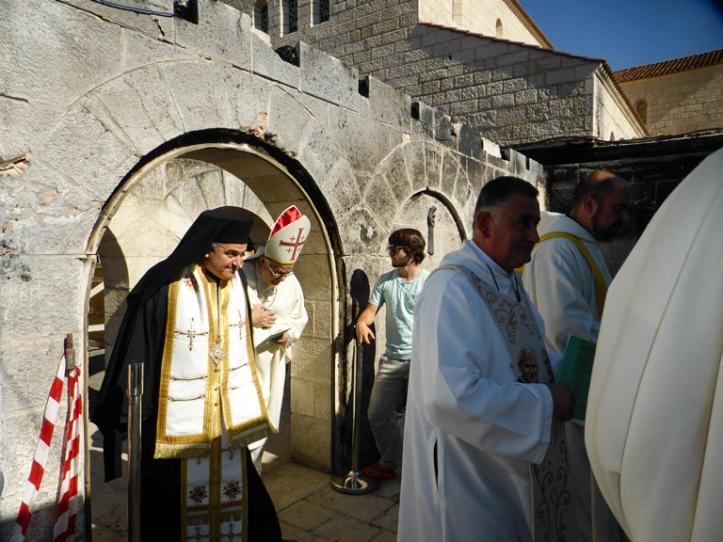 Patriarche Foaud et melkite