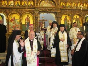 Patriarche Fouad melkites, Haïfa