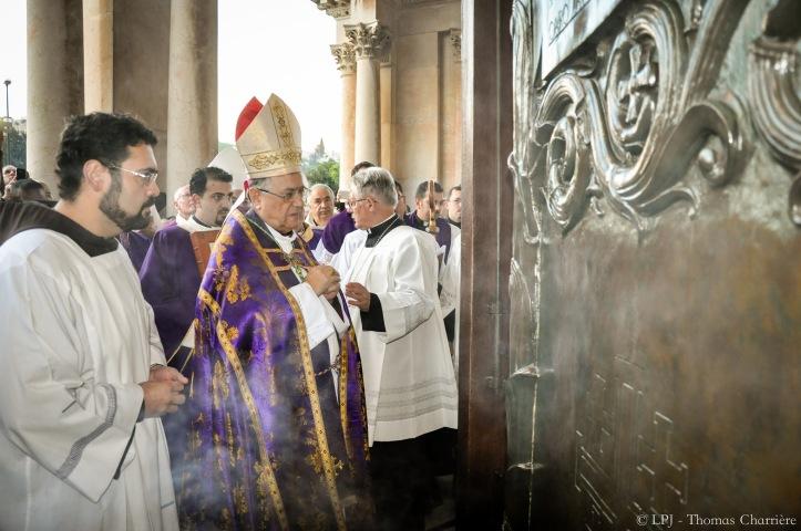 ouverture Porte Sainte Gethsémanie 2