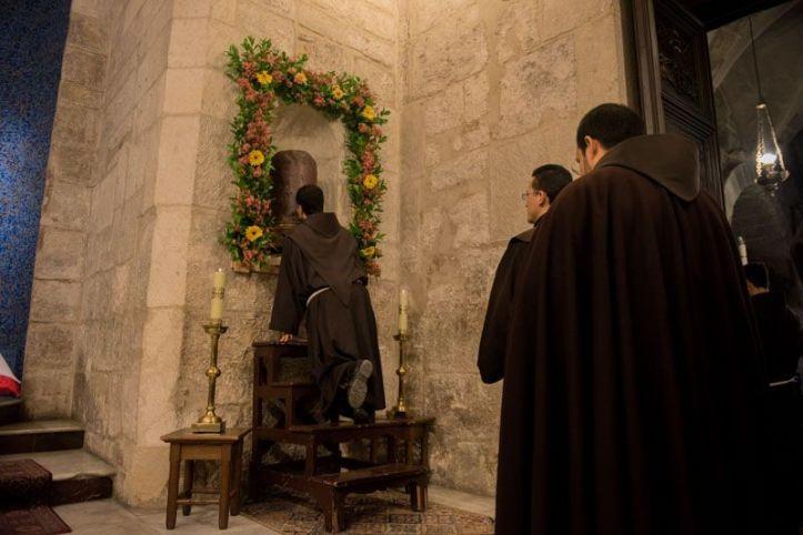 Mercredi saint - colonne de la flagellation
