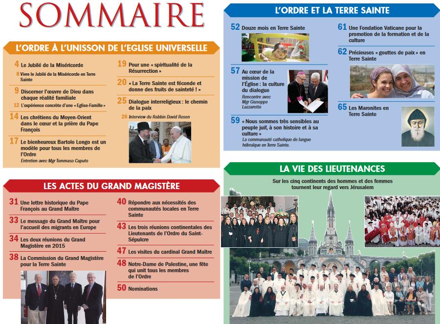 sommaire annales 2015 oessj