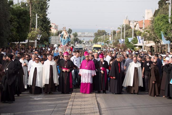 Procession Mont Carmel