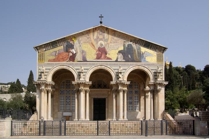 Jerusalem_Church_of_all_nations_BW_7
