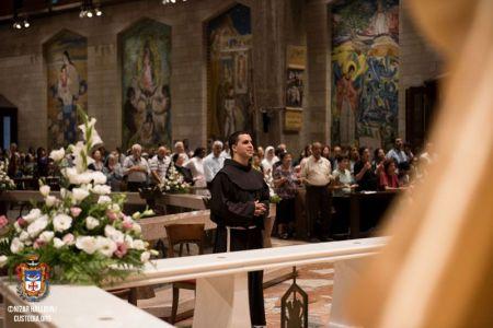 profession solennelle custodie Nazareth