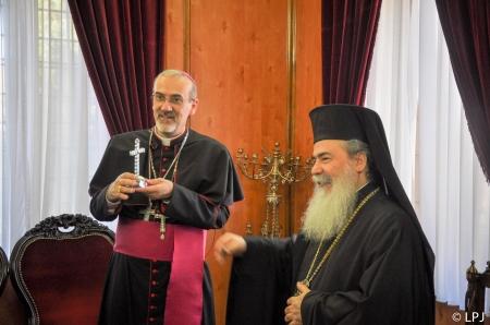 Mgr Pizzaballa - églises orthodoxes