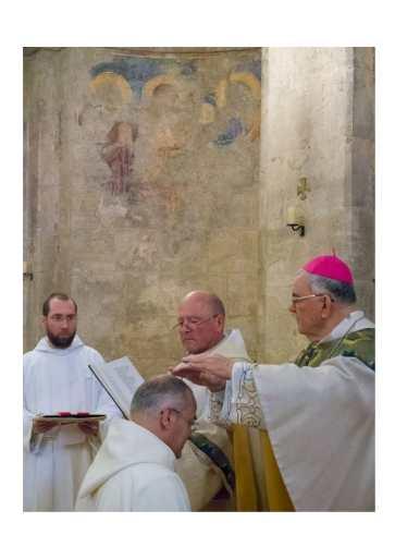 Ordination diaconale Frère Brice Abu Gosh